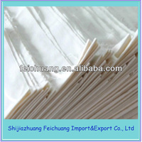 80% polyester 20% cotton twill bleached fabric