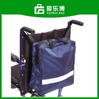 Waterproof Carrying NEW Lightweight Durable Nylon Rear Wheelchair Backpack Bag
