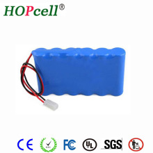 China manufacturer lithium battery pack 6Ah rechargeable li-ion 11.1V 18650 battery
