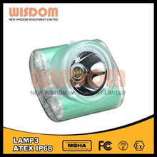 Brightest among the industry lamp 3 mining led rechargeable head lamp for underground mining
