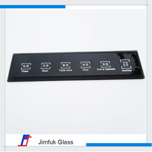 Customized intelligent household appliance touch control glass panels