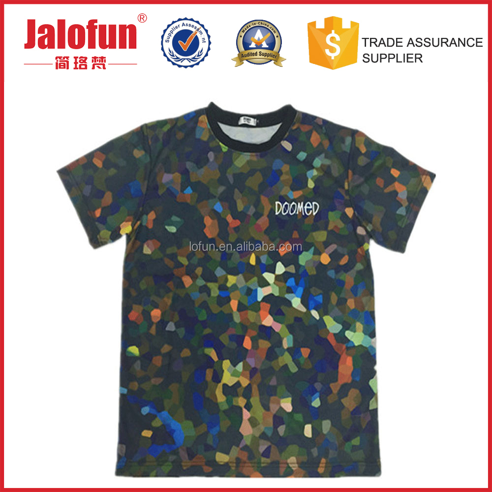 factory price cheap cool sublimation printed t shirts for men online designs