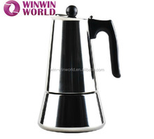 Stainles Steel Stovetop Manual 9 Cups Cooks Coffee Espresso Maker