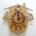 Home Decorative Classical Bamboo Wall Clock
