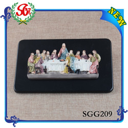 SGG209 Technology Art Style Resin Decorative Religious Statues, Religious Gift