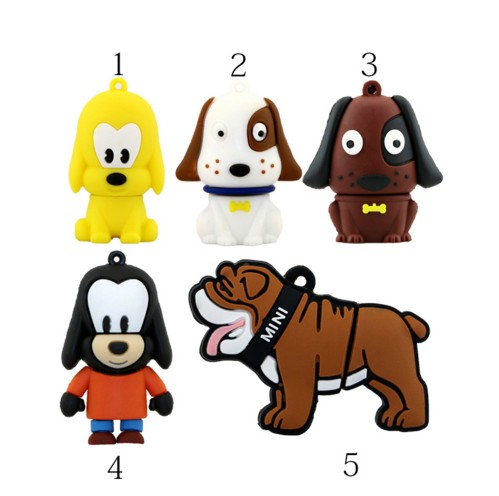 all kinds of Lovely Cartoon pet dog usb <strong>flash</strong> drive memory stick pen drive pendrive 4GB 8GB 16GB 32GB creative gift