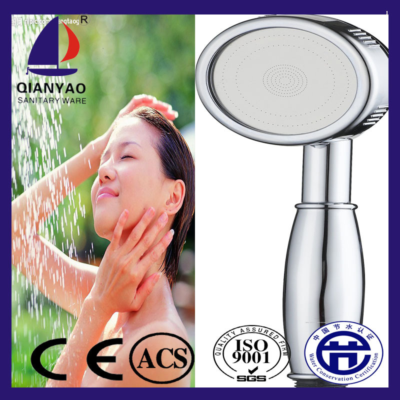 C-60-1 Cixi ABS copper rain hand shower decorative ring plating shower head
