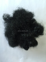 70D black recycled polyester staple fiber
