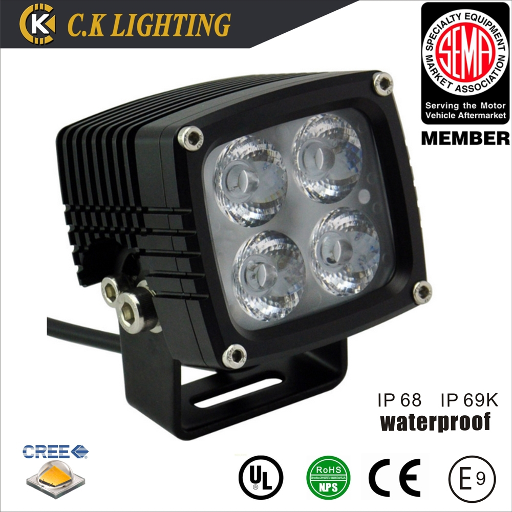 CK 40w auto led work light with cree 10w chips work light