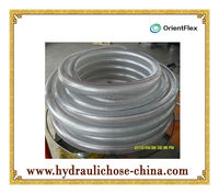 expandable plastic PVC steel wire reinforced hose tube
