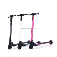 2017 new products portable folding carbon fiber electric scooter only 6.3 kg