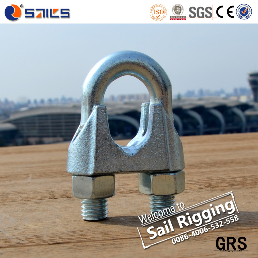 malleable adjustable steel wire rope clamp