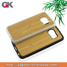 wholesale classical natural wood+pc phone case for Sansung s5 edge
