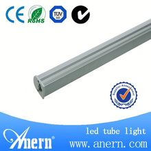 Transparent or milky PC cover t5 led light fluorescent tube