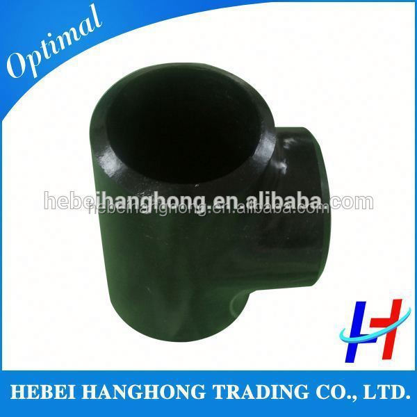 Trade Assurance Supplier asme b16.9 butt welded tee tube tee joint pipe fittings