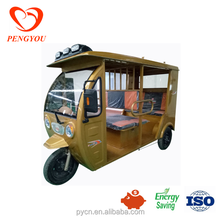 China electric tricycle with passenger seats/E Rickshaw for taxi/battery operated 3 wheel tricycle