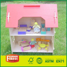 Non-toxic Princess Doll House games kids house model toy