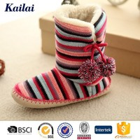 Delicate global snow winter camo flat boots