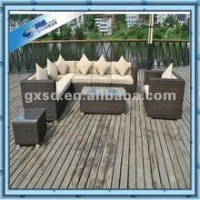 rattan outdoor sectional sofa