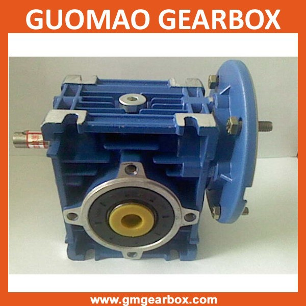 Large in output torque worm helical gear speed reducer
