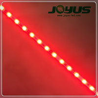 shenzhen lighting red white 12v 4mm width 2835 led strip