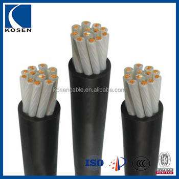PVC Insulated Muliticore Control Cable Low Voltage