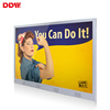 Hot sale wall mounted lcd monitor usb advertising media player for advertising screen indoor lcd video kiosk for shopping mall