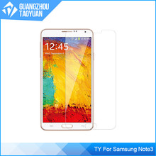 High quality 0.3mm thickness for Samsung galaxy note3 tempered glass 2.5D screen protector