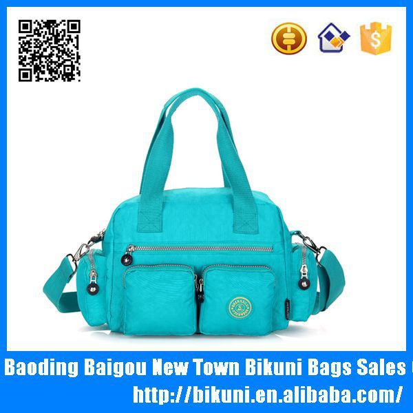 Best selling new pattern cross body sling shoulder diaper bag for women