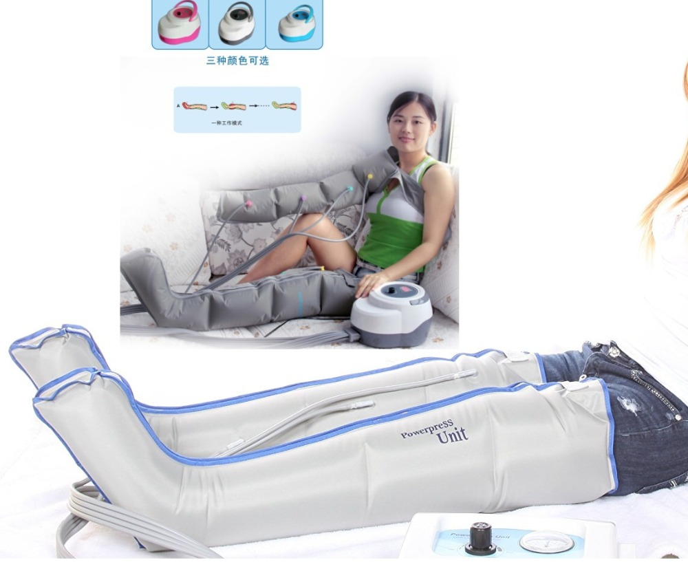 Electric air presssure compression foot leg massager