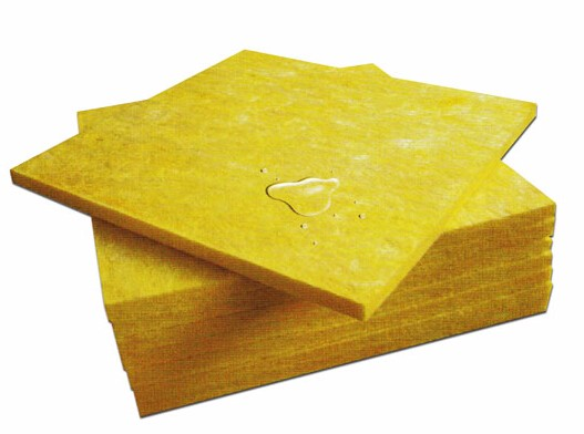 Fireproof insulation glass wool building material yellow for Fiberglass insulation density