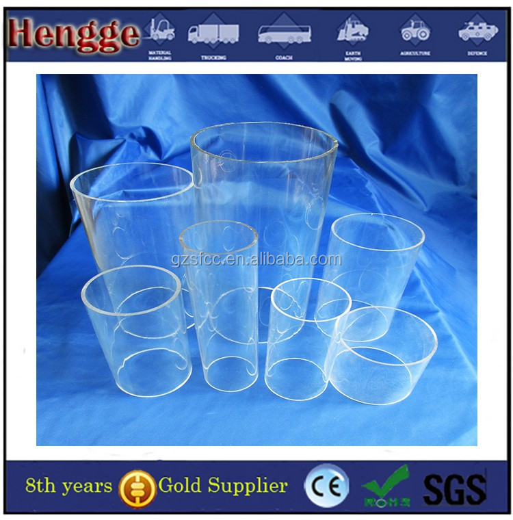 large diameter acrylic tube /PMMA tube 100-1000mm transparent acrylic tube