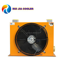 Hydraulic Fan Oil Cooler Ultrahigh Pressure Air Cooler 50Bar