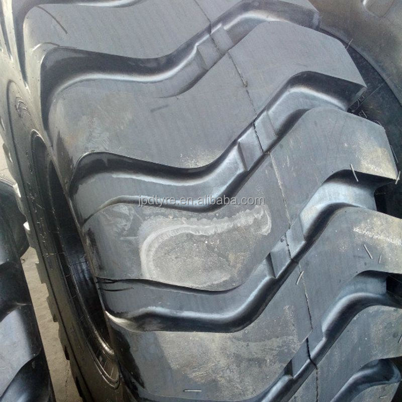 E3 L3 G3 wheel loader OTR tire 26.5-25 with general block tread off road tire