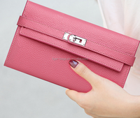 High Quality Women Fashion Leather Wallets Long Style Wallets