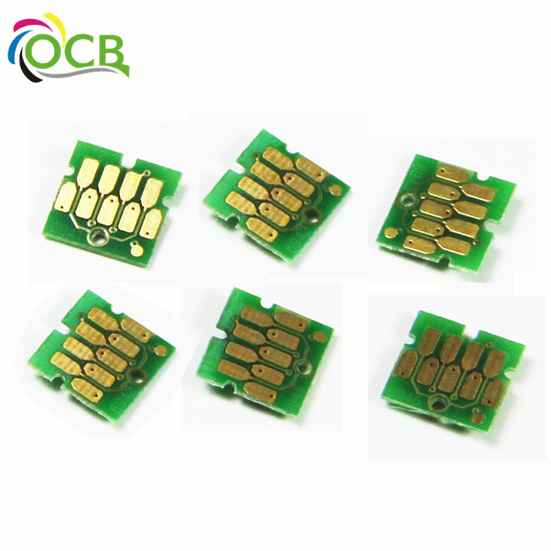 newest update one time chip compatible For Epson surecolor F6070 F7070 F7170 Printer Newest Update One Time Chip