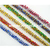 "children's educational toys 6mm*12"" metallic two color chenille stem diy toys"