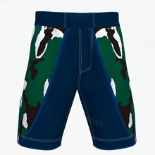 Sublimation blank unbrand china printer manufacture boxing camo bjj custom mma shorts