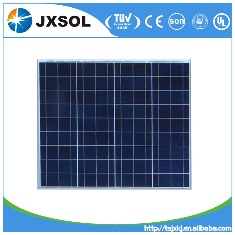 2016 Hot sale PV panel 50W poly crystalline solar modules price per watt