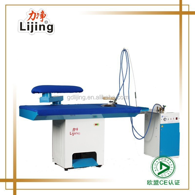 Competitive industrial ironing board steam iron press use for laundry shop and garment factory
