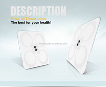Bluetooth smart scale ITO glass with APP for Android and iPhone for human body weighing household use