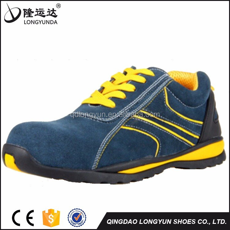 2017 best selling sport safety shoes fashionable sport