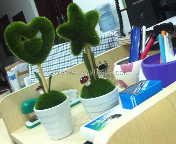 Lucky decoraci n rbol de hierba artificial de ollas de la for Arbol artificial decoracion