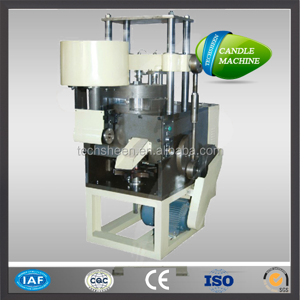 3000 pcs/hour Easy operation Auto-feeding wax pressing tealight candle maching machine