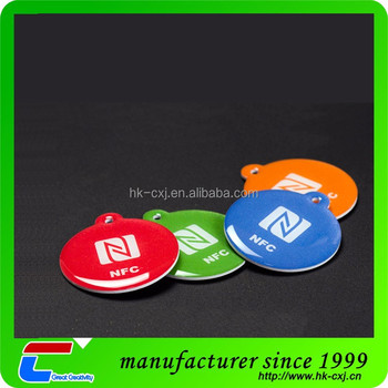 disposable pvc nfc tags