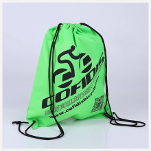 polyester waterproof sport backpack cheap colors drawstring bag