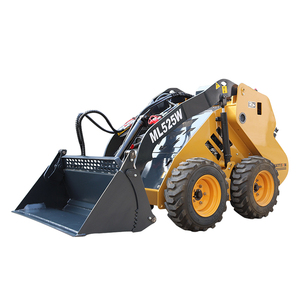 New Condition and Wheel Loader Moving Type mini tractor skid steer loader from mattson company
