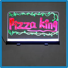 Portable new products neon effect advertising signs aluminium frame 18 flashing modes led message signs led variable message sig