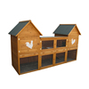 Large chinese fir wooden chicken coop hen house