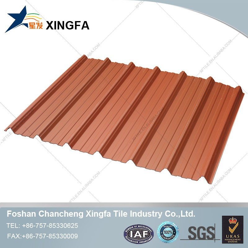 Building material roofing shingles PVC roof tile